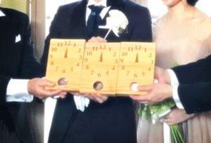 結婚式・時計